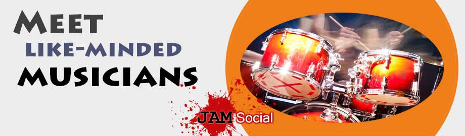 Meet musicians at JamSocial
