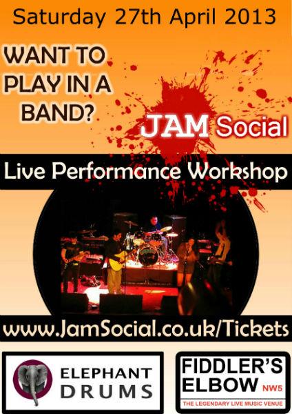 JamSocial 27 April 2013