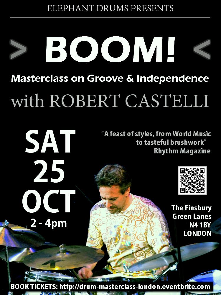 Robert Castelli Masterclass